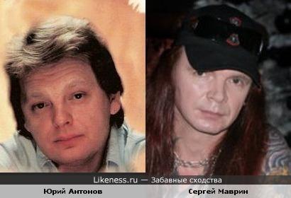 """Бывший гитарист группы """"Ария"""" Сергей Маврин похож на певца и композитора Юрия Антонова"""
