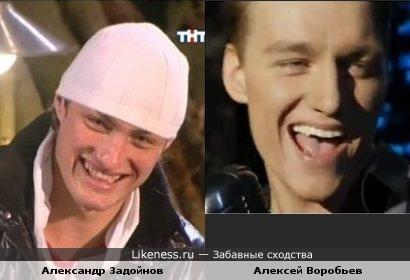 """Александр Задойнов похож на Алексея Воробьева в клипе """"Бам-бам"""""""