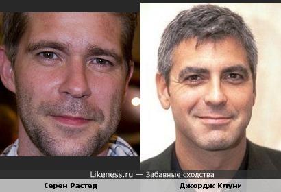 """Участник группы """"Aqua"""" Серен Растед похож на Джорджа Клуни"""