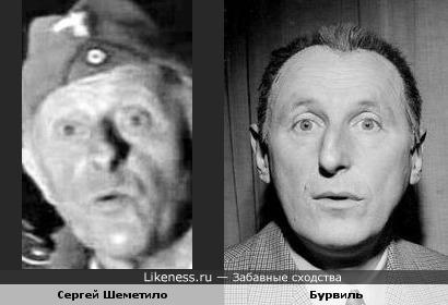 Сергей Шеметило похож на Бурвиля