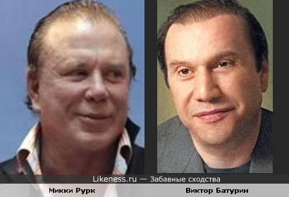 Микки Рурк & Виктор Батурин