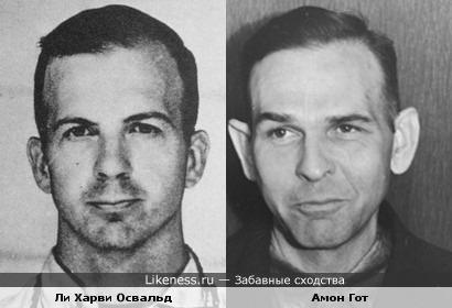 Подозреваемый в убийстве Джона Кеннеди похож на гауптштурмфюрера СС