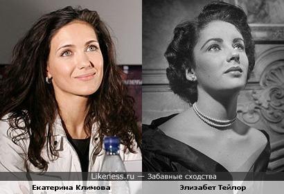 Екатерина Климова могла бы сыграть Элизабет Тейлор