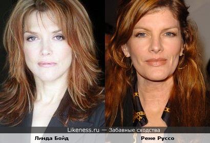 Линда Бойд похожа на Рене Руссо