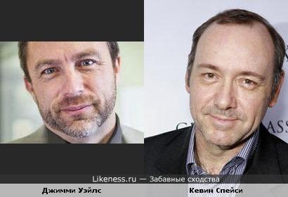 Мне основатель Википедии напоминает Кевина Спейси