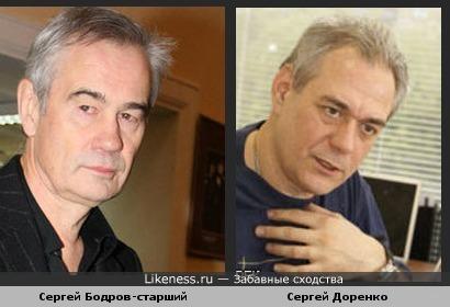Телекиллер Сергей Доренко похож на тезку Бодрова-старшего