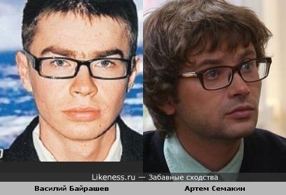Спасшийся электромеханик с «Булгарии» Василий Байрашев похож на актера Артема Семакина.....скорбим о погибших... ;-(