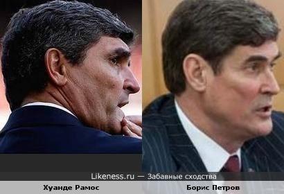 Испанский тренер и губернатор Запорожской области