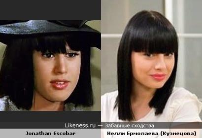 Американский студент-трансвестит - поклонник Нелли Ермолаевой из Дома-2???