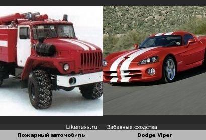 Раскраска пожарного автомобиля прямо как у гоночного, например Dodge