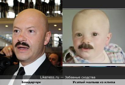 Федор Бондарчук похож на малыша из клипа