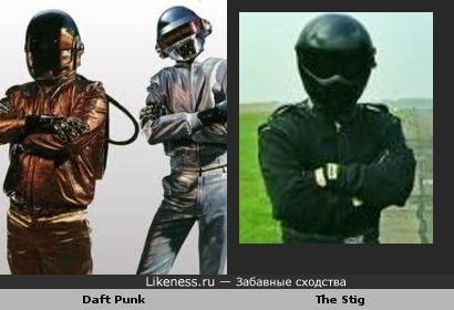 """Подозреваю, что Ги Кристо (""""Daft Punk"""") и есть Стиг из ТопГир"""