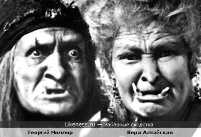 Мать и дочь-одно лицо...