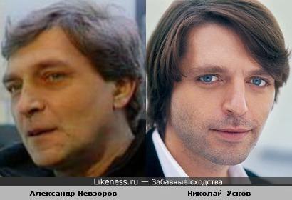 Александр Невзоров и Николай Усков