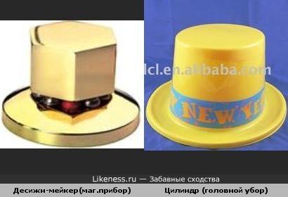 Магический прибор похож на шляпу