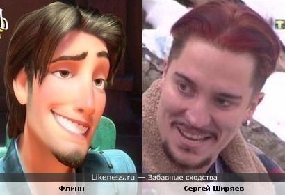 Флинн похож на Сергея Ширяева
