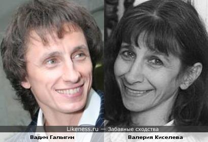 Мама Ивана Урганта-актриса Валерия Киселева и Вадим Галыгин похожи