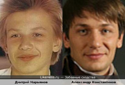 Дмитрий Марьянов и Александр Константинов