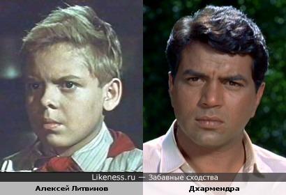 Алексей Литвинов и Дхармендра