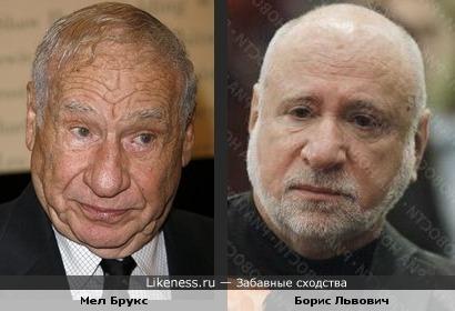 Мел Брукс и Борис Львович