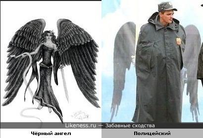 Ангел - полицейский