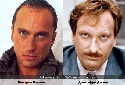 Дмитрий Нагиев и Джеффри Джонс