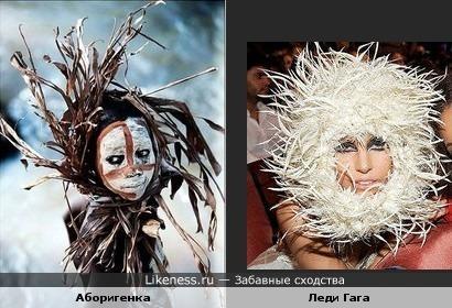 Где черпать вдохновение дизайнеру Филипу Трейси как не в Африке среди племён...