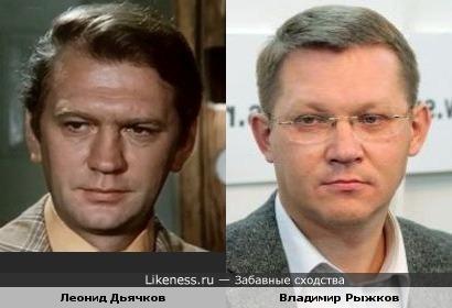 Леонид Дьячков и Владимир Рыжков