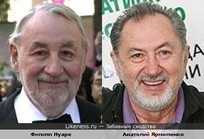 Филипп Нуаре и Анатолий Ярмоленко похожи