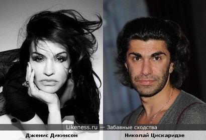 Дженис Дикинсон и Николай Цискаридзе