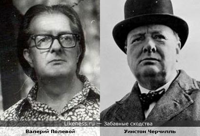 Валерий Полевой напомнил Уинстона Черчилля