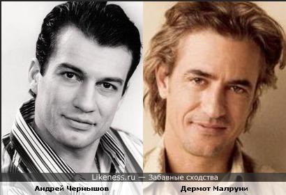 Андрей Чернышов и Дермот Малруни
