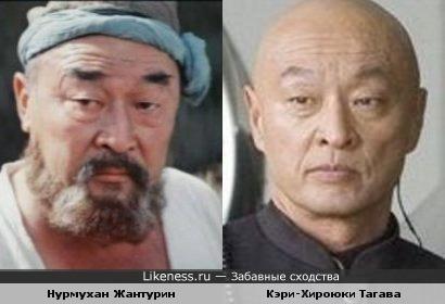 Нурмухан Жантурин и Кэри-Хироюки Тагава