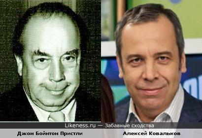 Джон Бойнтон Пристли напомнил Алексея Ковалькова