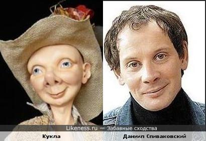 Авторская кукла напомнила Даниила Спиваковского