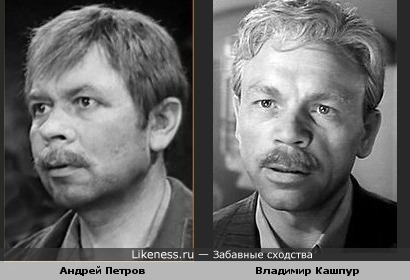 Андрей Петров и Владимир Кашпур