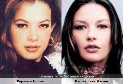 Корайма Торрес и Кэтрин Зета-Джонс