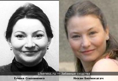 Елена Степаненко и Нихан Бюйюкагач