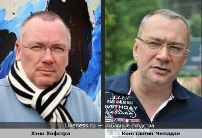 Хэнк Хофстра напомнил Константина Меладзе