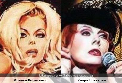 Франка Полеселло и Клара Новикова