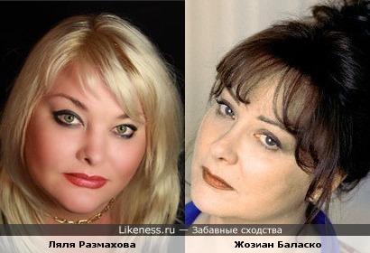 Ляля Размахова и Жозиан Баласко