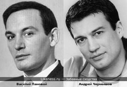 Василий Лановой и Андрей Чернышов