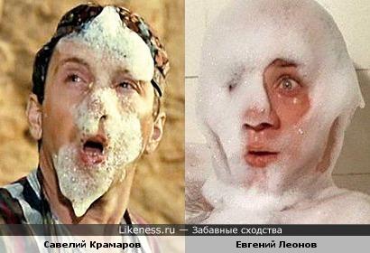 """Кадры из фильмов """"Джентльмены удачи"""" и """"Полосатый рейс"""""""