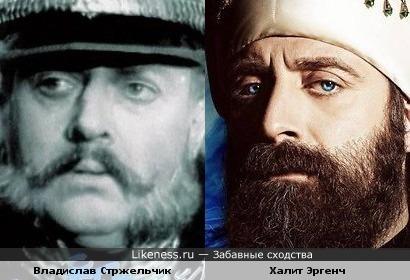 Владислав Стржельчик и Халит Эргенч