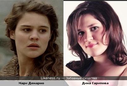 Мари Денарно и Дина Гарипова