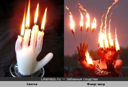 Горящие руки Фредди Крюгера