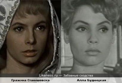 Гражина Станишевска и Алла Будницкая