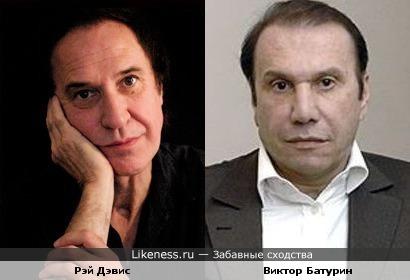 Рэй Дэвис и Виктор Батурин