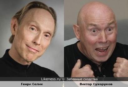 Генри Селик и Виктор Сухоруков