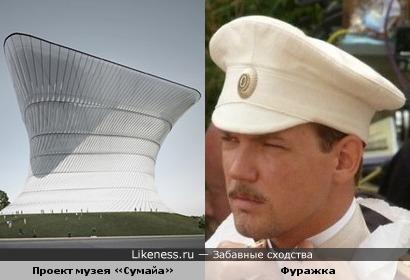 Причудливая форма музея